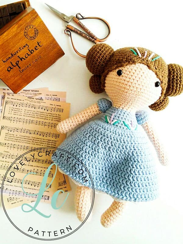 Crochet Maribel Doll Amigurumi Free Pattern (2)