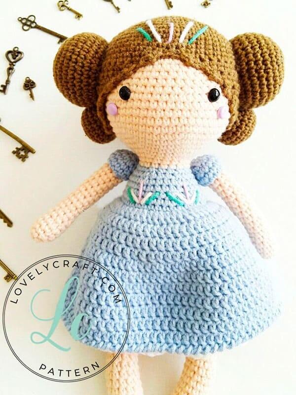 Crochet Maribel Doll Amigurumi Free Pattern (3)