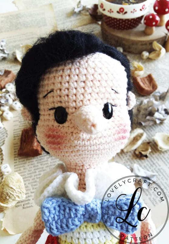 Crochet Pinocchio Amigurumi Doll Pattern (5)