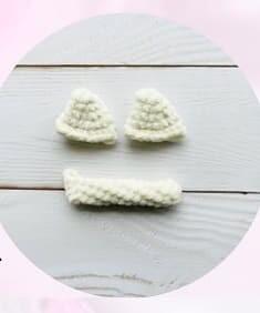 Crochet Plush Cat Amigurumi Free PDF Pattern kitten ears