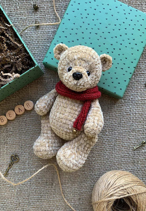 Crochet Plush Teddy Bear Amigurumi Free Pattern (2)