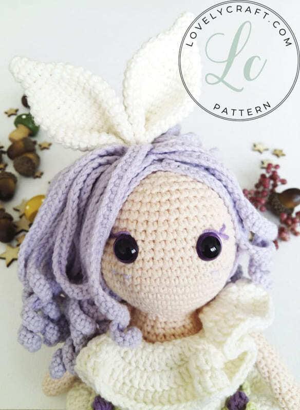 Crochet Rubby Bunny Girl Amigurumi Free Pattern (4)
