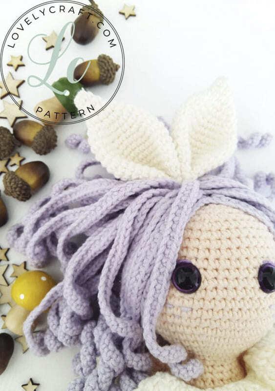 Crochet Rubby Bunny Girl Amigurumi Free Pattern (5)