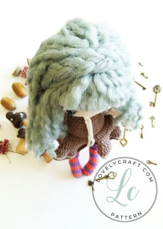 Crochet Sabrina The Witch Amigurumi Free Pattern (1)
