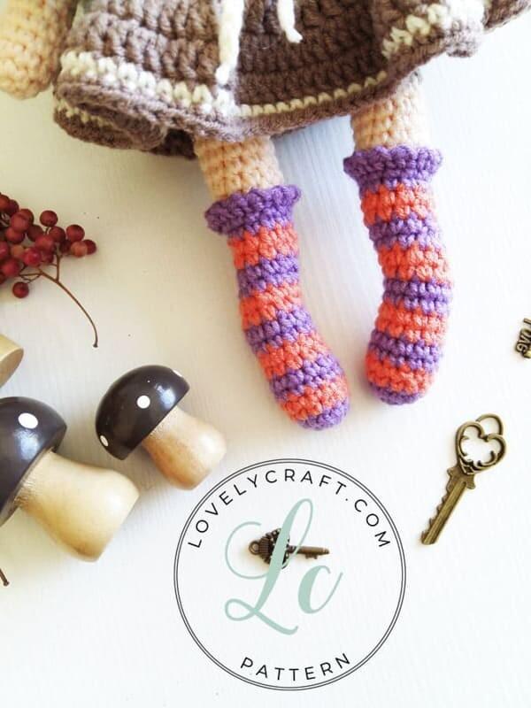 Crochet Sabrina The Witch Amigurumi Free Pattern (6)