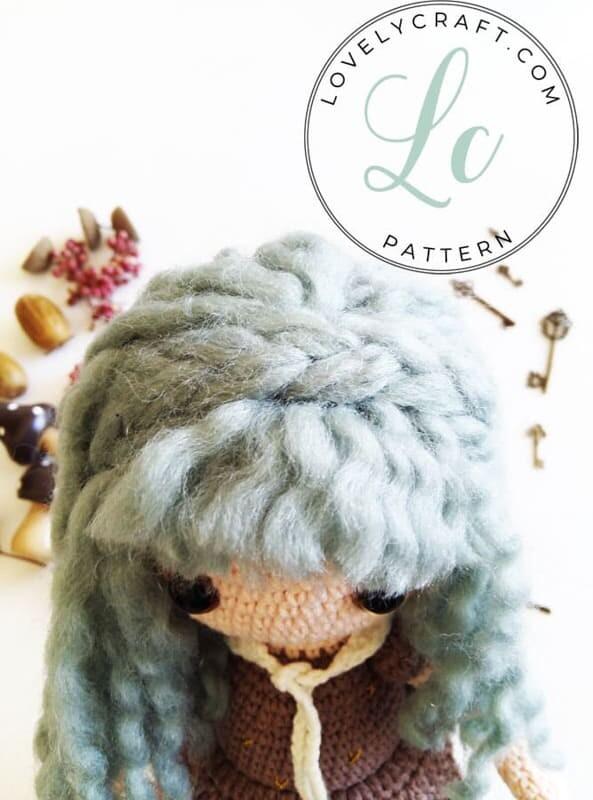 Crochet Sabrina The Witch Amigurumi Free Pattern (7)