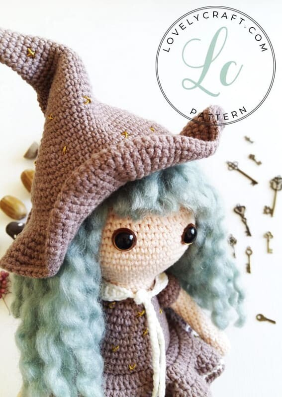 Crochet Sabrina The Witch Amigurumi Free Pattern (8)