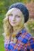 Crochet Slouchy Hat for Women and Kids PDF Pattern Women blonde