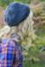 Crochet Slouchy Hat for Women and Kids PDF Pattern back side