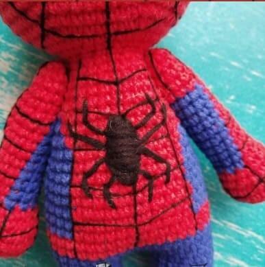 Crochet Spiderman PDF Amigurumi Free Pattern spider
