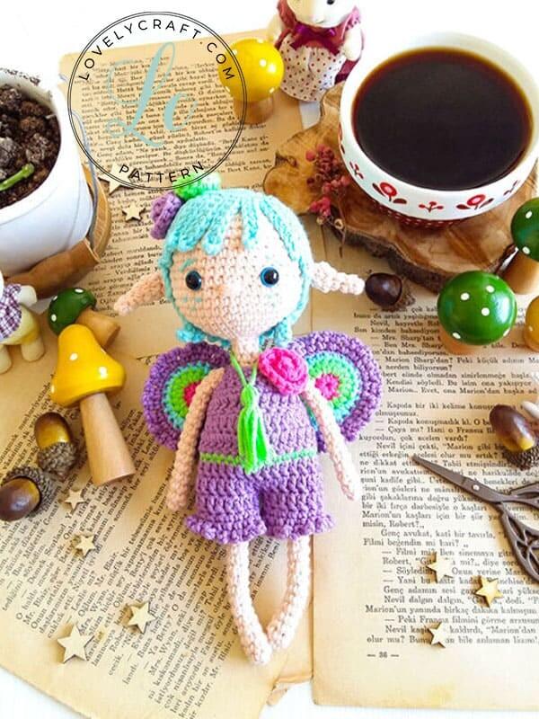 Fairy Pui Amigurumi Crochet Pattern