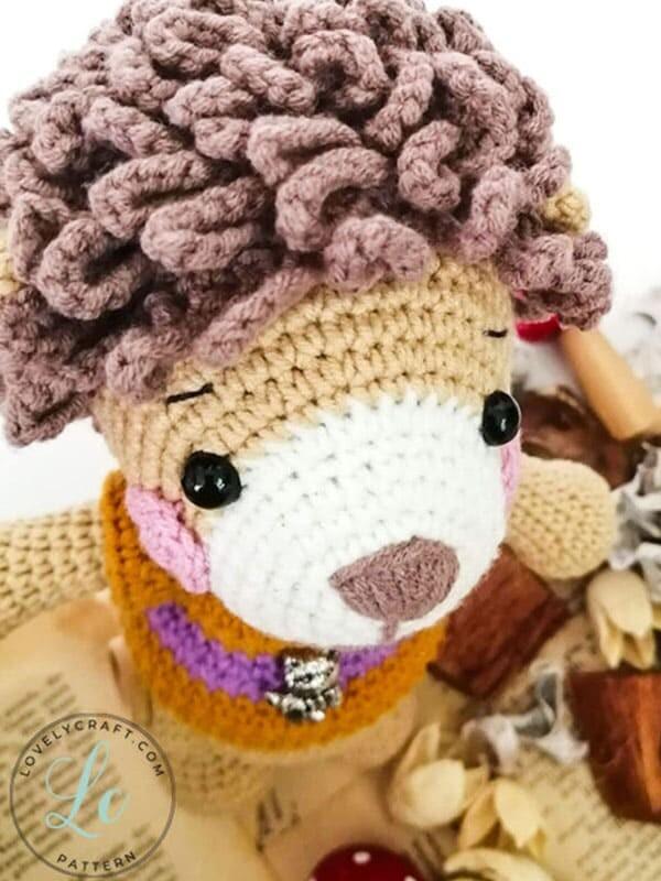 Lion Benroy Amigurumi Crochet Pattern (4)