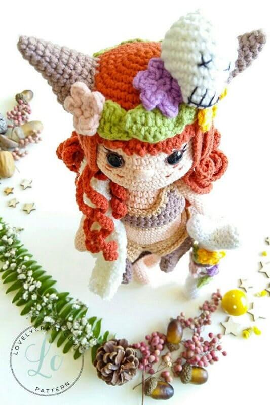 Muur Shaman Crochet Doll Amigurumi Free Pattern (1)
