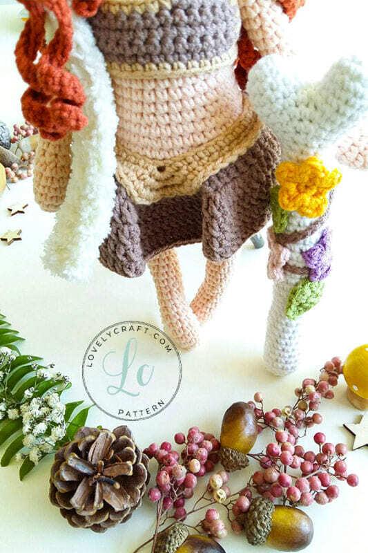 Muur Shaman Crochet Doll Amigurumi Free Pattern (4)