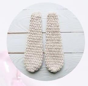 Plush Crochet Velvet Bunny Amigurumi Free Pattern bunny ears